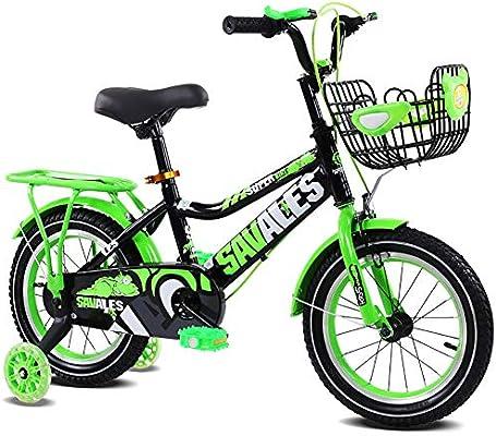 FJ-MC Unisexo Bicicleta para niños, Muchachos Chicas Bici de los ...