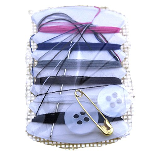 Max Corner Travel Mini Portable Sewing Kit, Emergency Sew Set Amenities for Hotel Kits Adults Thread Bulk 10 Pcs
