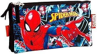 Spiderman- Estuche, Color Multicolor (Multicolour), 23 cm (Montichelvo 55772): Amazon.es: Ropa y accesorios