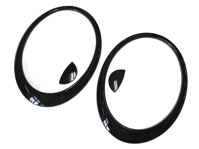 Amazon Com 20072013 Mini Cooper R56 S Glossy Black Head Light Lamp