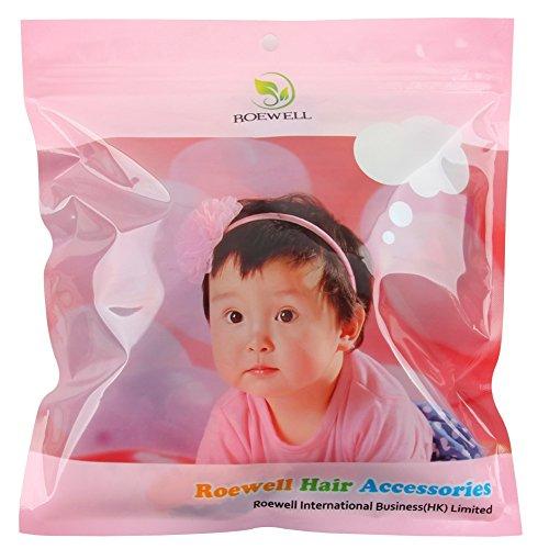Roewell® Baby Elastic Hair Hoops Headbands and Girl's Fashion Soft Headbands