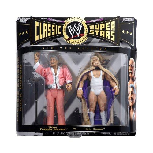 WWE WWF Jakks Classic Superstars Series 2 Pack Limited Edition: Classy Freddie Blassie vs. Hulk Hogan - Wrestling Action - Edition Superstars Limited Classic