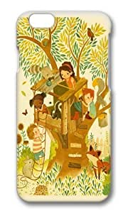 Apple Iphone 6 Case,WENJORS Awesome Our House In the Woods Hard Case Protective Shell Cell Phone Cover For Apple Iphone 6 (4.7 Inch) - PC 3D hjbrhga1544
