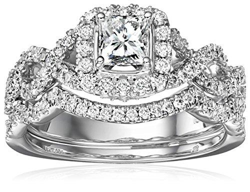 Cut Diamond Bridal Set - 9