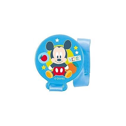 MICKEY - Sujeta chupetes en blister mickey baby azul colour overlap ...