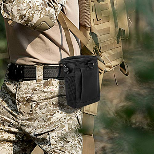 28ffabc7d9b4 Tactical Molle Drawstring Magazine Dump Pouch, Adjustable - Import ...
