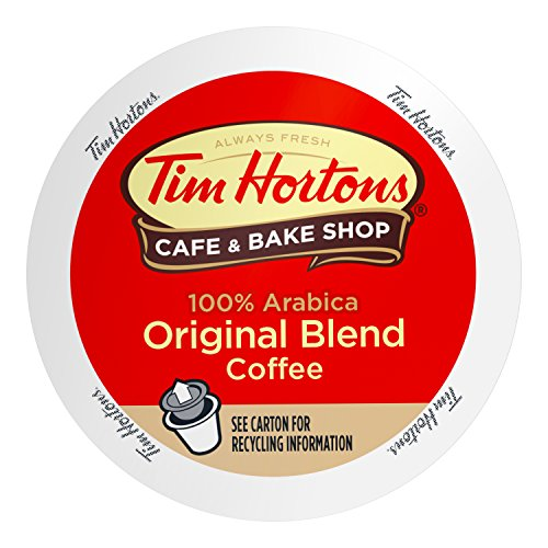 Tim Horton's Single Serve Coffee Cups, Premium Roast, 80 Count