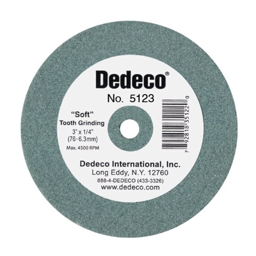 Dedeco 5123 Green Lathe Wheel, 3