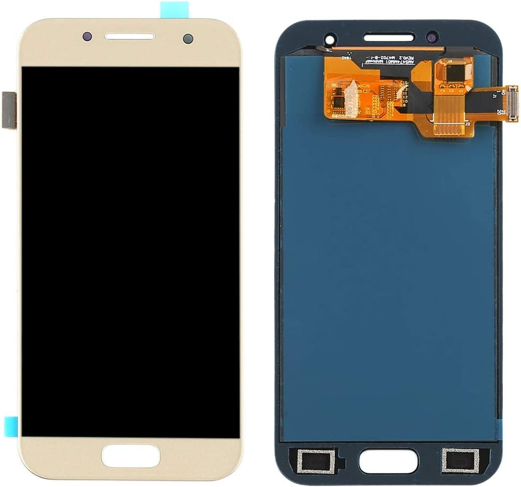 Ctghgyiki Touch Screen Panel, LCD Screen and Digitizer Full Assembly A320F//DS Color : Gold A320Y Replacement for Galaxy A3 A320FL A320F 2019 A320Y//DS TFT Material