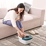 Foot Spa/Bath Massager with Heat, Bubbles, and