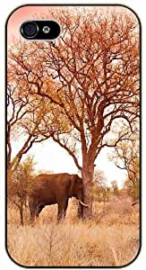Elephant resting in tree - Case For Sony Xperia Z2 D6502 D6503 D6543 L50t L50u Cover black plastic case / Animals and Nature