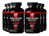 Blood Pressure stabilizer - BLOOD PRESSURE SUPPORT - Blood pressure pills for men (6 Bottles - 360 Capsules)