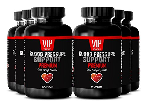 Green tea extract powder - BLOOD PRESSURE SUPPORT - Blood pressure pills natural (6 Bottles - 360 Capsules) by Unknown