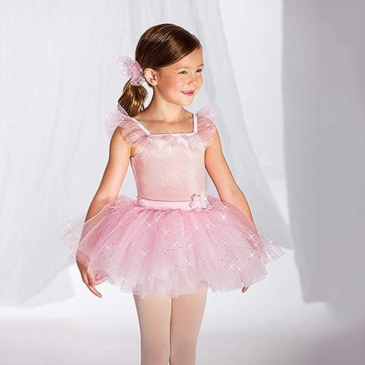 JIE. Tutu-Chica Linda Falda de Ballet de la Falda de Malla de Oro ...