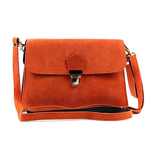 Suede Aossta Cross Clutch Leather Bag Red Wedding Genuine Body Bag Italian ES6q6nF