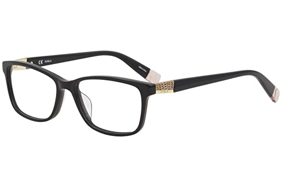 75d7e67e1d Furla Women s Eyeglasses VFU005 VFU 005 700Y Black Full Rim Optical ...