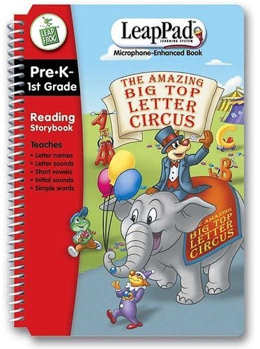 The Amazing Big Top Letter Circus (For Use with Leap Pad--NOT Included) (Leap Frog, Pre-K tp 2nd Gra