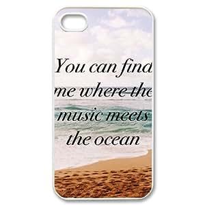 Motivational Quotes iPhone 4/4s Case White Yearinspace004985 Kimberly Kurzendoerfer