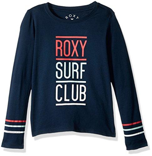 Roxy Big Girls' Lost in Dream Long Sleeve T-Shirt, Dress Blues, ()