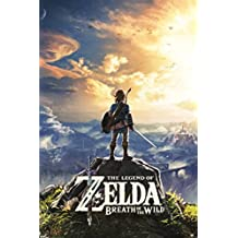 The Legend Zelda Breath The Wild Hyrule Video Gaming Poster 24x36 inch