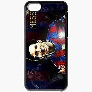 XiFu*MeiPersonalized iphone 4/4s Cell phone Case/Cover Skin Lionel Messi Barcelona Football BlackXiFu*Mei