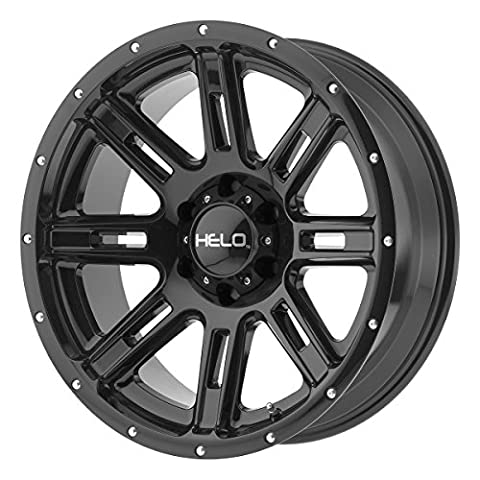 Helo HE900 18x9 Black Wheel / Rim 8x6.5 with a 0mm Offset and a 125.50 Hub Bore. Partnumber - Helo Custom Wheels