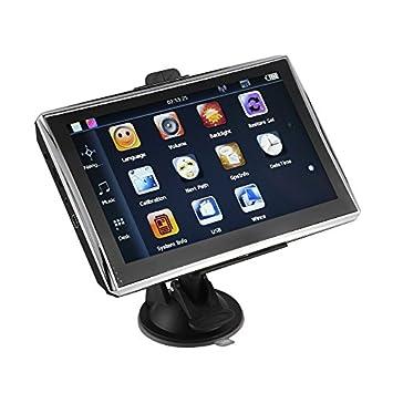 X7 - Sensor táctil de navegación GPS para coche y camión de 7 pulgadas (256 m + 8 GB), color negro: Amazon.es: Coche y moto