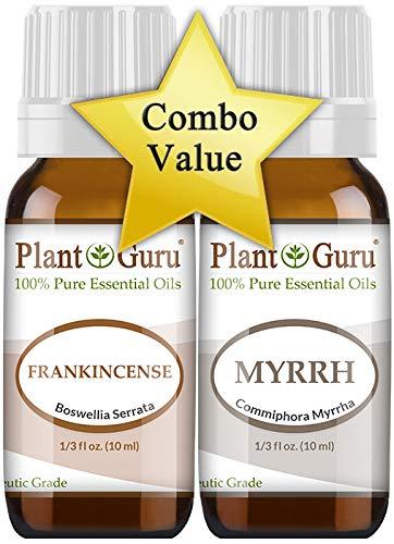 Frankincense and Myrrh Essential Oil 10 ml. 100% Pure Undiluted Therapeutic Grade.