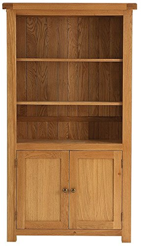 Hagley gelegentlichen Groß Bücherregal mit 2 Ablagen, 1 Tür, Holz