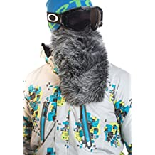 Beardski Great Wolf Grey Insulated Thermal Ski Motorcycle Warm Winter Beard Face Mask