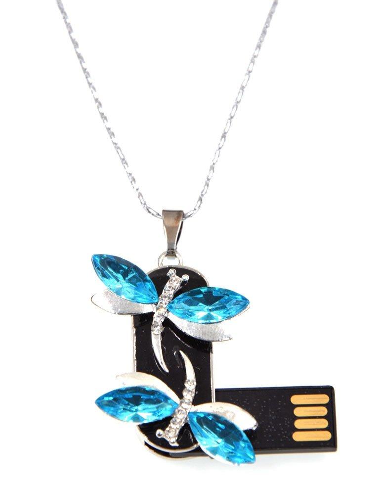 Pretty Jewelry Ladybug USB 2.0 8GB-64GB flash drive memory stick pendrive Golden