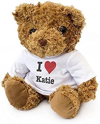 Teddy Bear Cute Soft Cuddly NEW Gift Present Birthday Xmas Valentine London Teddy Bears I LOVE KATIE