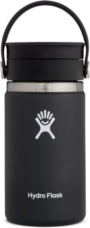 Hydro Flask Stainless Steel Coffee Travel Mug - 12 oz, Black