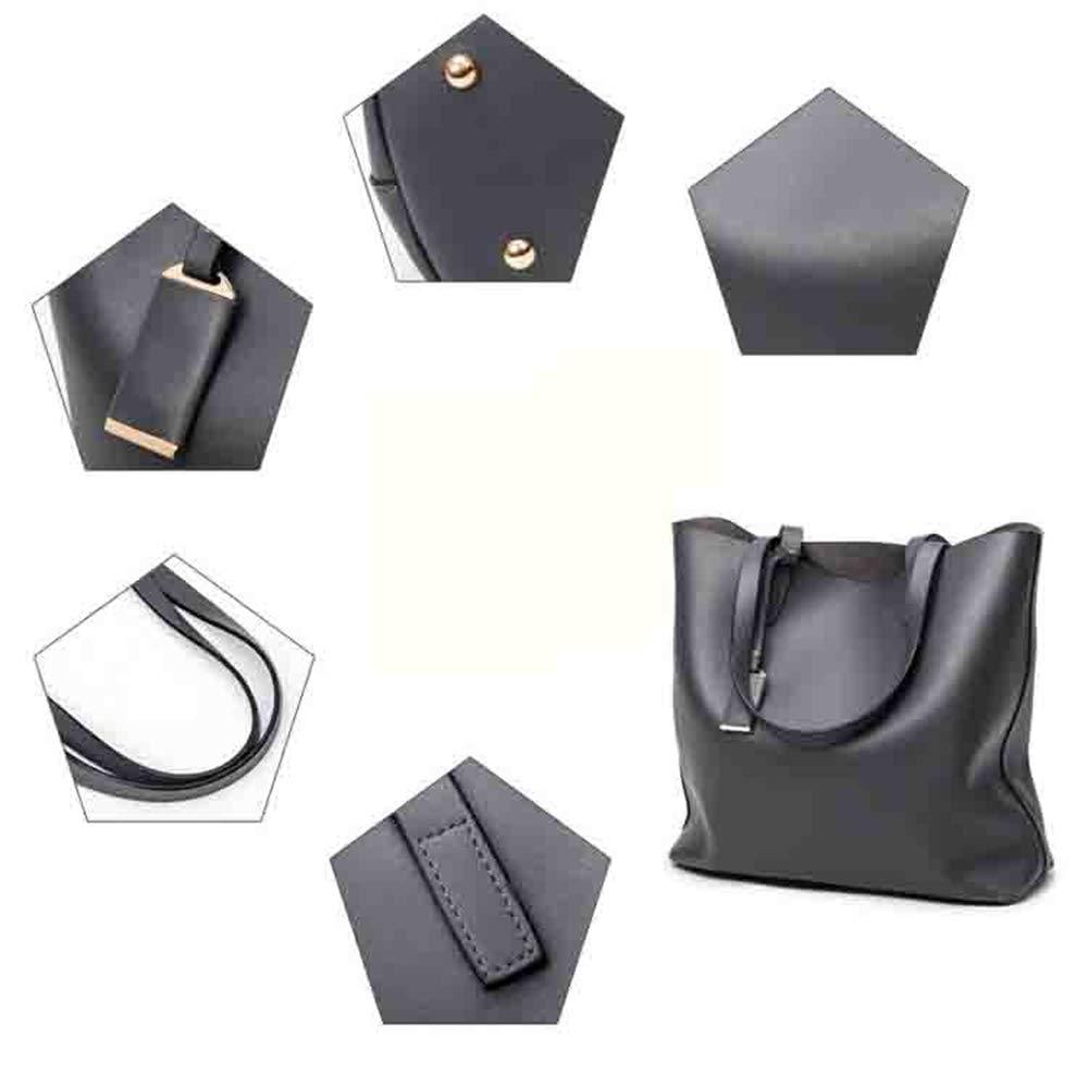 Liakeb Lady Handbag Casual Single Shoulder Bag Crossbody Bag Soft Waterproof Travel Convenient wear-Resistant