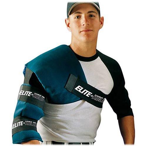 (Elite-Kold Adult Shoulder Elbow Ice Wrap for Rotator Cuff Tendonitis Bursitis DK 54)