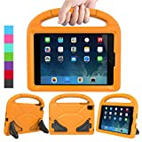 LEDNICEKER Kids Case for iPad Mini 1 2 3 4 5 - Light Weight Shock Proof Handle Friendly Convertible Stand Kids Case for iPad Mini - Mini 5 (2019) - Mini 4 - iPad Mini 3rd Gen - Mini 2 - Orange