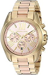 Michael Kors Women's Quartz Stainless Steel Automatic Watch, Color:Gold-Toned (Model: MK6359)