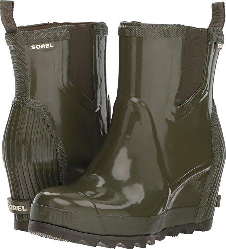 Gloss Women's Salt Boot Joan Sea Chelsea Sorel Rain Rain Nori Wedge 7UqXO