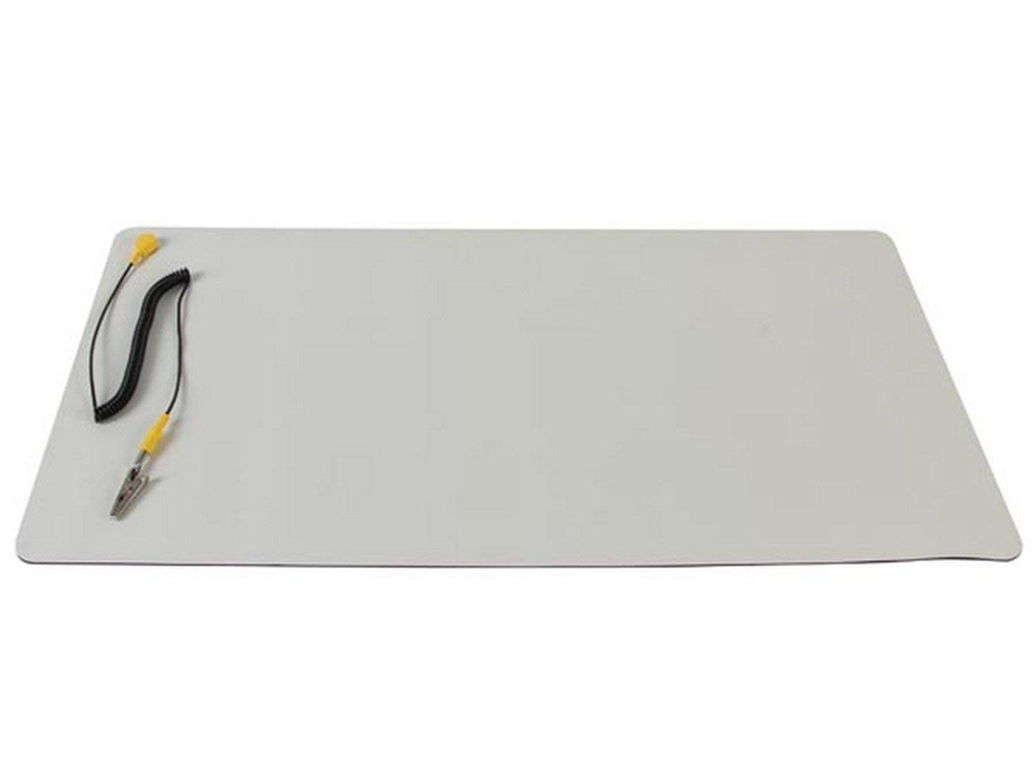 Velleman AS4 Anti-Static Mat with Ground Cable - Desktop static dissipative mat - 11.8'' x 22''