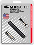 Maglite Solitaire Incandescent 1-Cell AAA Flashlight Black фото