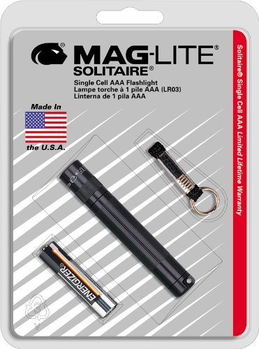 Maglite Solitaire Incandescent 1-Cell AAA Flashlight - Usa Vans Made In Fake