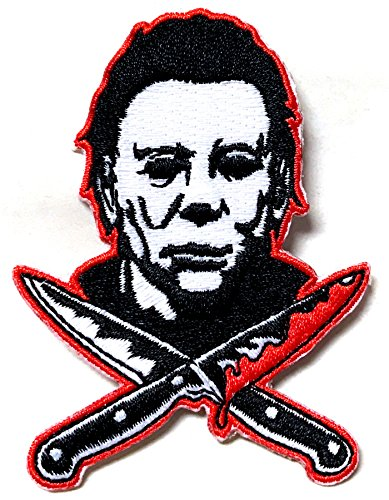 Halloween 2 Michael Myers Knives Embroidered Patch ()