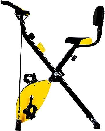 Bicicleta de Ejercicio Vertical magnética Plegable para Interior y ...
