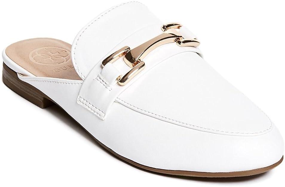 Kandee Slide Loafers White: Amazon.ca