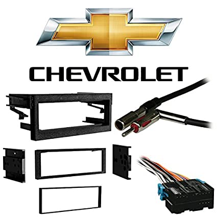 Compatible with Chevy Tahoe 1995-2002 Single DIN Stereo Harness Radio on