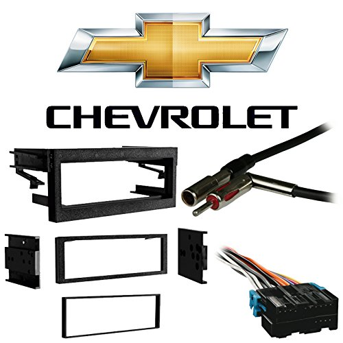 - Fits Chevy Tahoe 1995-2002 Single DIN Stereo Harness Radio Install Dash Kit