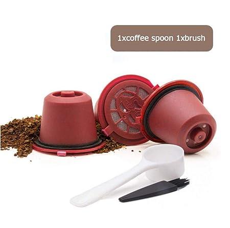 Geagodelia - Cápsulas de filtro de café reutilizables (4 ...