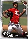 2016 Bowman Baseball Prospect #BP 99 Amir Garrett Cincinnati Reds