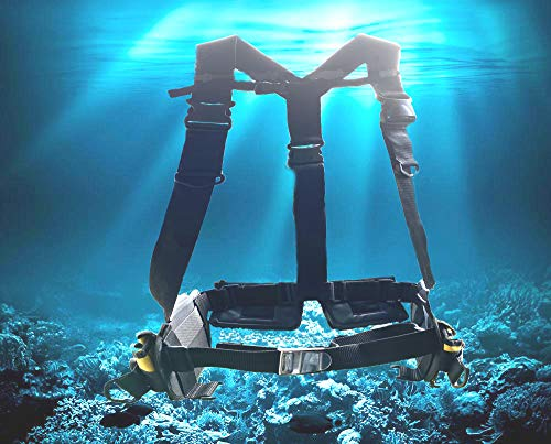 AKM Scuba Diving Adjustable,Cub,Holiday,Weight harness Sports (2020 version)