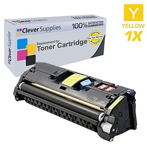 CS Compatible for HP 2550L (Q3962A) HP 122A, COLOR LASERJET 2550, 2550L, 2550LN, 2550N, 2800, 2820, 2830, 2840 Toner Cartridge Yellow